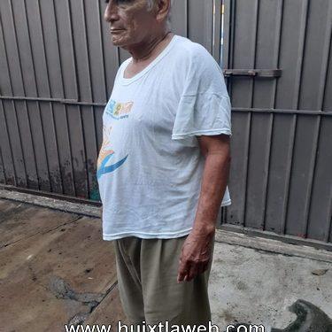 Anciano Huehueteco lo despojan de su casa entenados