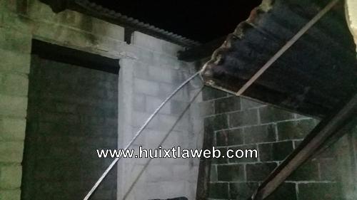 Muere campesino electrocutado al reventarse cable de alta tensión en Escuintla