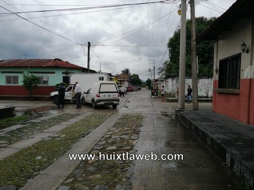 Choca carro de minsa en Huixtla