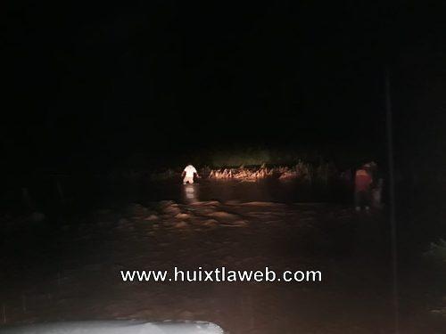 Se desbordan ríos en Villa Comaltitlán y afecta familias y cultivos