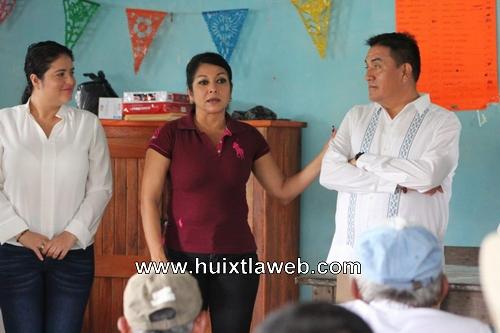 Reconoce diputada Olvita Palomeque trabajo del gobierno municipal de Mazatán