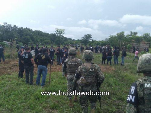 Restituyen tierra invadidas en Huixtla