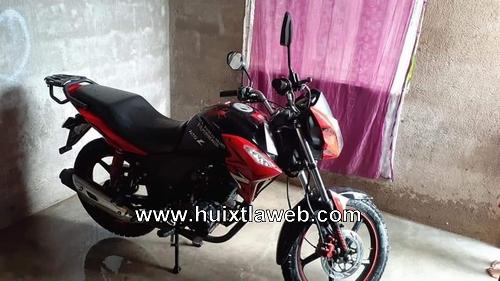 Roban motocicleta a repartidor de alimentos en Huixtla