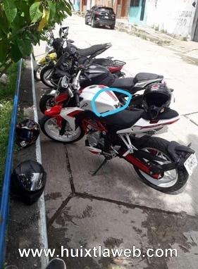 Continúan robos de motocicletas en Villa Comaltitlán