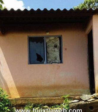 Se incendia casa en Tuzantán