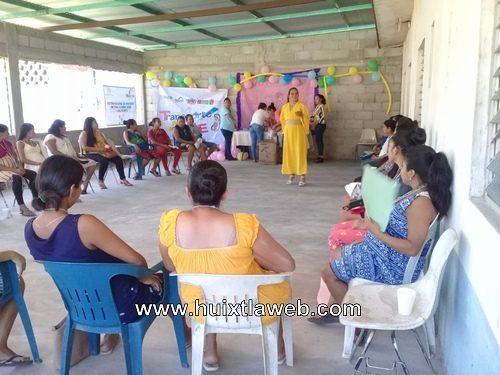 """Programa """"Embarazada Responsable y Feliz"""" en el Ejido Francisco I. Madero"""
