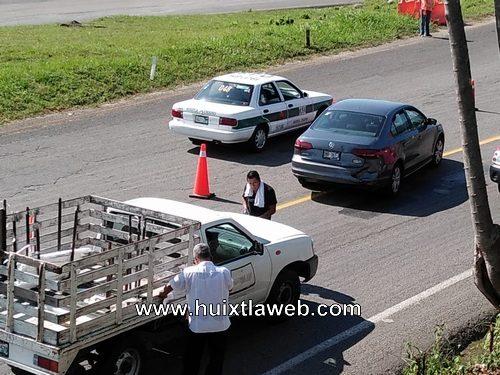 Siguen los accidentes en la carretera Huixtla a Tapachula