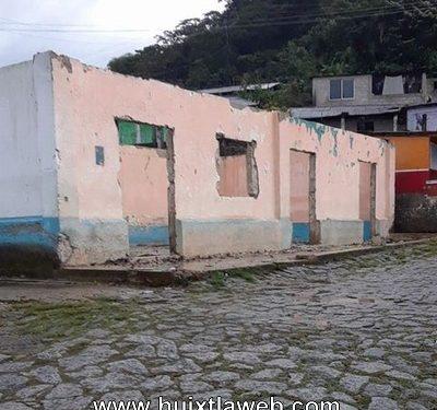 Alcalde  Motozintla desmantela y abandona casa ejidal