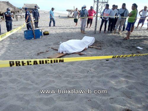 Empleado de APP muere ahogado en el mar en Mapastepec