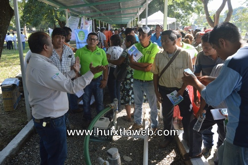 Huixtla sede de la primer feria de proveedores del programa sembrando vida