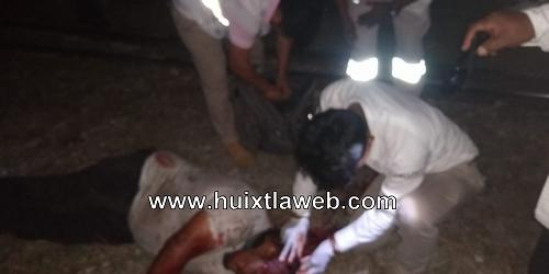 Comerciante de feria es macheteado en Mapastepec