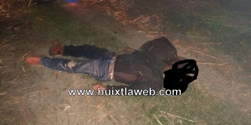 Motociclista cae de puente elevado en Mapastepec