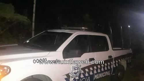 Por incumplimiento de obras retienen patrulla comuneros de Motozintla