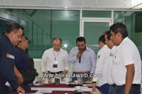 Huixtla sede de la sexta sesión ordinaria del COMSEP