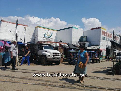 Cerrarán el fin de semana el mercado de Huixtla