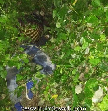 Localizan cuerpo putrefacto en villa Comaltitlán