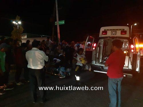 Motociclista mazateco se accidenta en Mapastepec