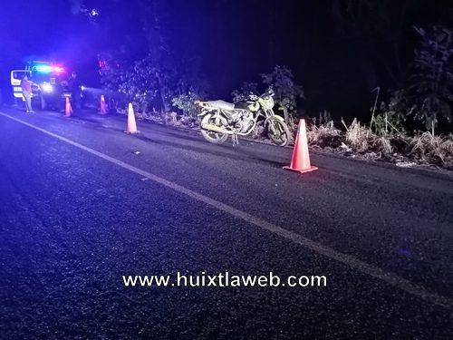 Dos motociclistas lesionados en Huehuetán