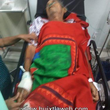 Conocido Paletero grave en el hospital de Huixtla pide apoyo