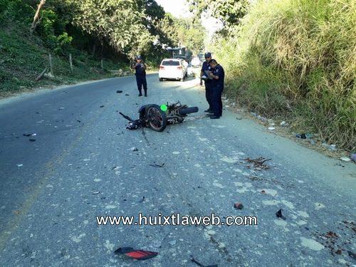 Motociclista atropellado por Huehueteco en Escuintla
