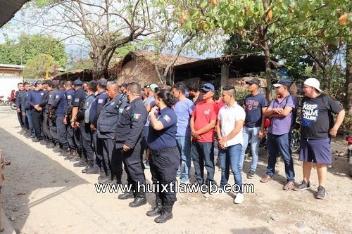 Por abuso de autoridad acusan a policías municipales en Huixtla