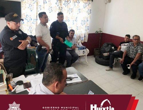 Comerciantes de Huixtla agradecen acciones del gobierno municipal