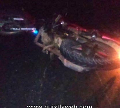 Ebrio motociclista se accidenta en la costera