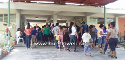 Viajan a Tuxtla comisión de padres de escuela secundaria de Huehuetán