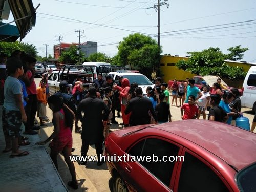 Por contingencia sanitaria detienen a chavaricos en Huixtla