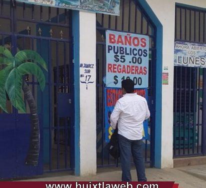 Gobierno de Huixtla notifica el cierre temporal de actividades en balnearios