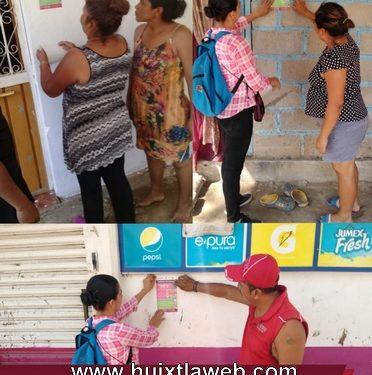 Gobierno de Huixtla continúa campaña de difusión de medidas de prevención de Covid-19