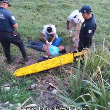 Se accidenta motociclista Mapaneco