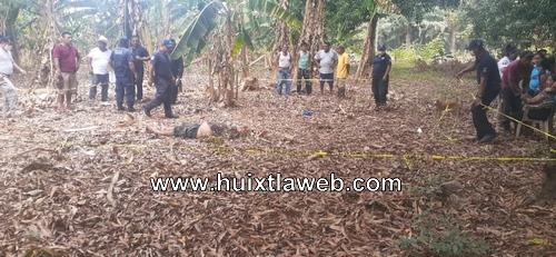 Localizan cuerpo de persona macheteada en Villa Comaltitlán
