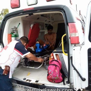 Motociclista Mapaneco es baleado al oponerse que le robaran su moto