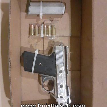 Detienen a hombre armado en zona cañera de Huixtla