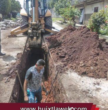 Rehabilitación de red de drenaje sanitario calle corregidora oriente