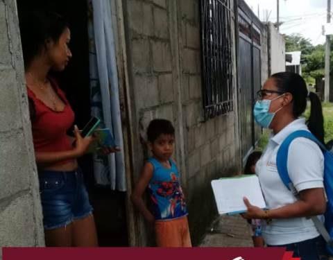 Gobierno municipal realizó entrega de «guía familiar preventiva Covid-19»