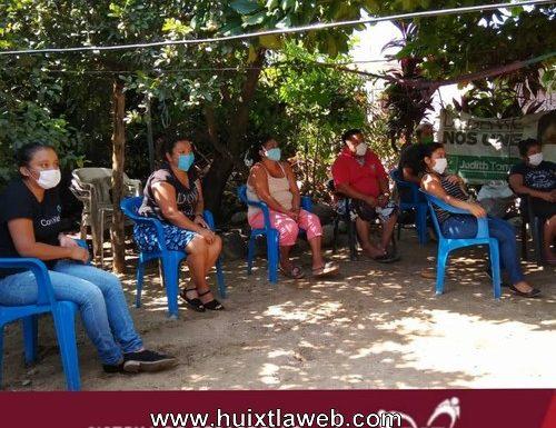 El DIF municipal de Huixtla organiza plática para conmemorar el día mundial contra la trata de personas
