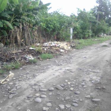 Convertidos en basureros calles de Huehuetán