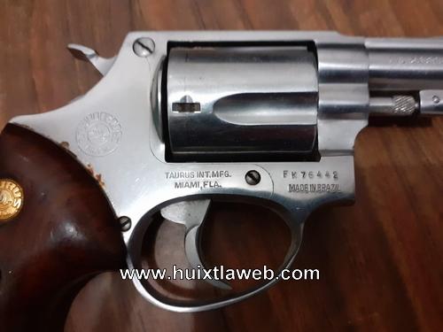 Motociclista Mapaneco detenido con un arma de fuego