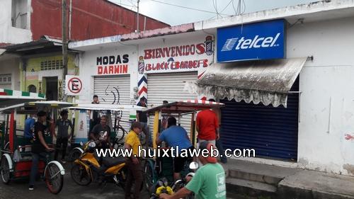 Peluquero hondureño es baleado en Huixtla