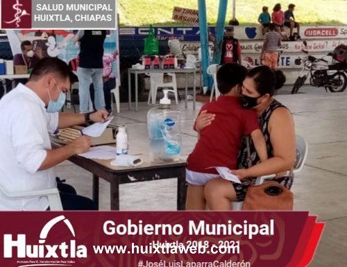 """Llevan a cabo programa """"acciones transformadoras de la salud» en el barrio Guadalupe"""