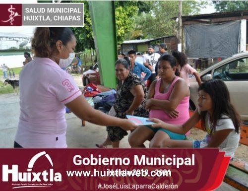 """Llevan acabo programa """"acciones transformadoras de la salud» en colonia Buenos Aires"""