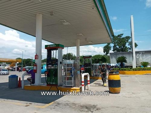 Piden verificar gasolinera de Huehuetán