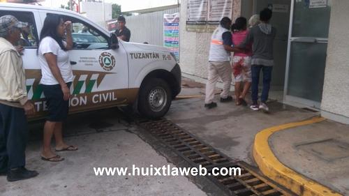 Maquina le arranca un brazo a empleada de tortillería en Tuzantán