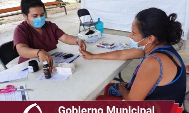 Programa «Acciones para la mujer» en la colonia Buenos Aires