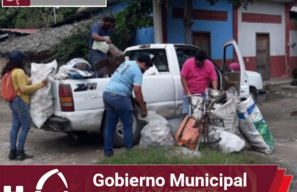 Continúa gobierno municipal campaña de descacharrización en la zona baja