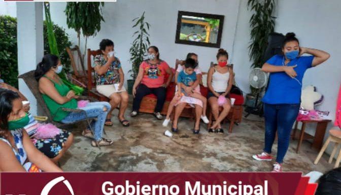 Gobierno y DIF Huixtla realizaron actividades del programa «Hoy tócate»