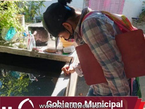 Gobierno municipal continúa campaña de control larvario