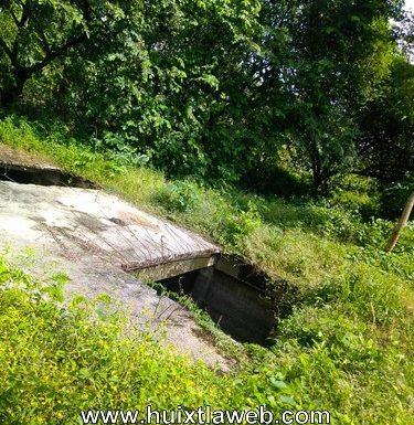 Dejan abiertos los drenajes en estación Tuzantán